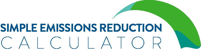 Simple Emissions Reduction Calculator
